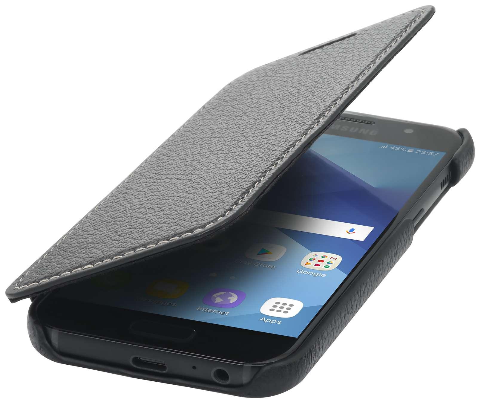 Coque Samsung Galaxy A3 (2017) Book Type sans clip   StilGut 8ef1083b1376