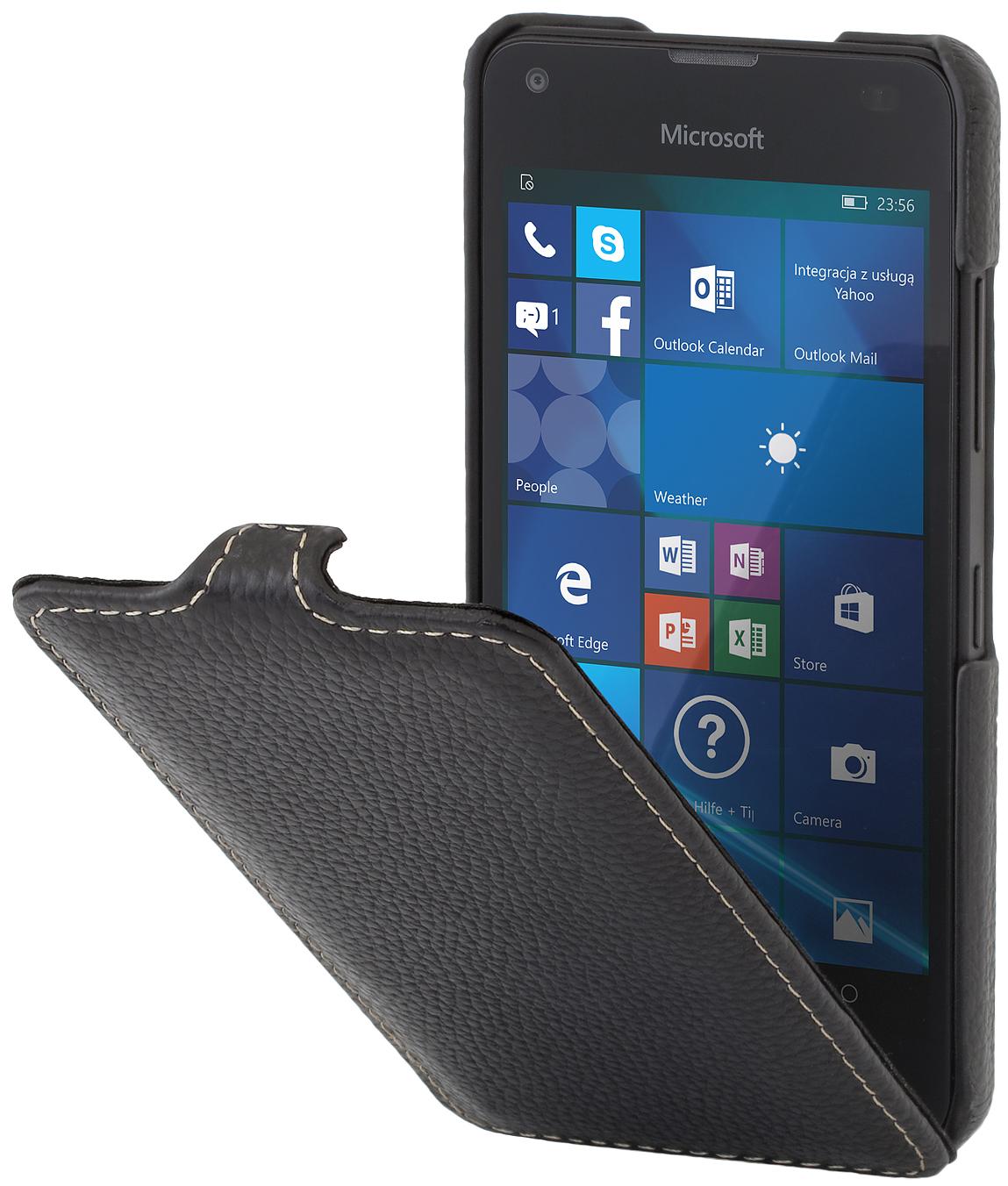 Housse lumia 550 ultraslim en cuir stilgut for Housse lumia 550