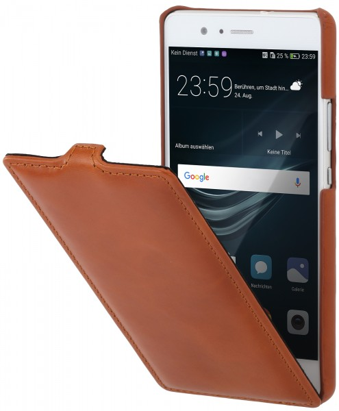 Housse huawei p9 lite ultraslim en cuir stilgut for Housse huawei p9 lite