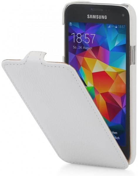 Housse Galaxy S5 mini UltraSlim en cuir   StilGut cb3f57ea779d