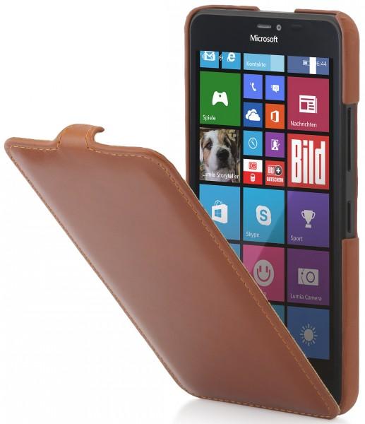 Housse Lumia 640 Xl Ultraslim En Cuir Stilgut